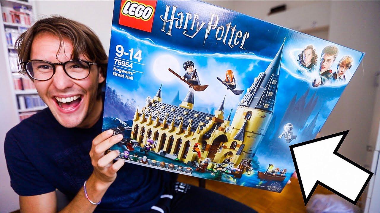 Costruisco il castello di harry potter con i lego youtube