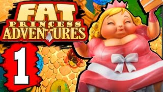 Fat Princess Adventures Walkthrough Part 1 Gameplay Lets Play Playthrough PS4