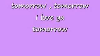 Tomorrow Annie Lyrics