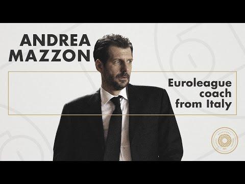 Andrea Mazzon in Europe Basketball Academy