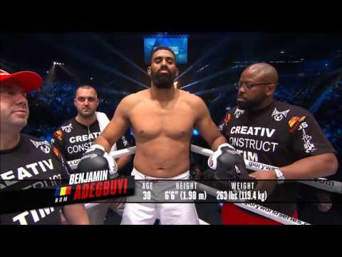 Rico Verhoeven vs Benjamin Adegbuyi Glory 26 Full fight HD
