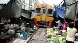 Train track Veggie Market