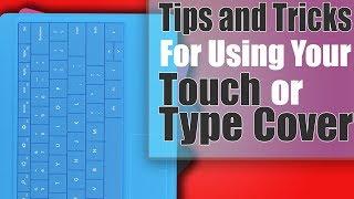 Surface 2 Tips: Type Keyboard Gestures