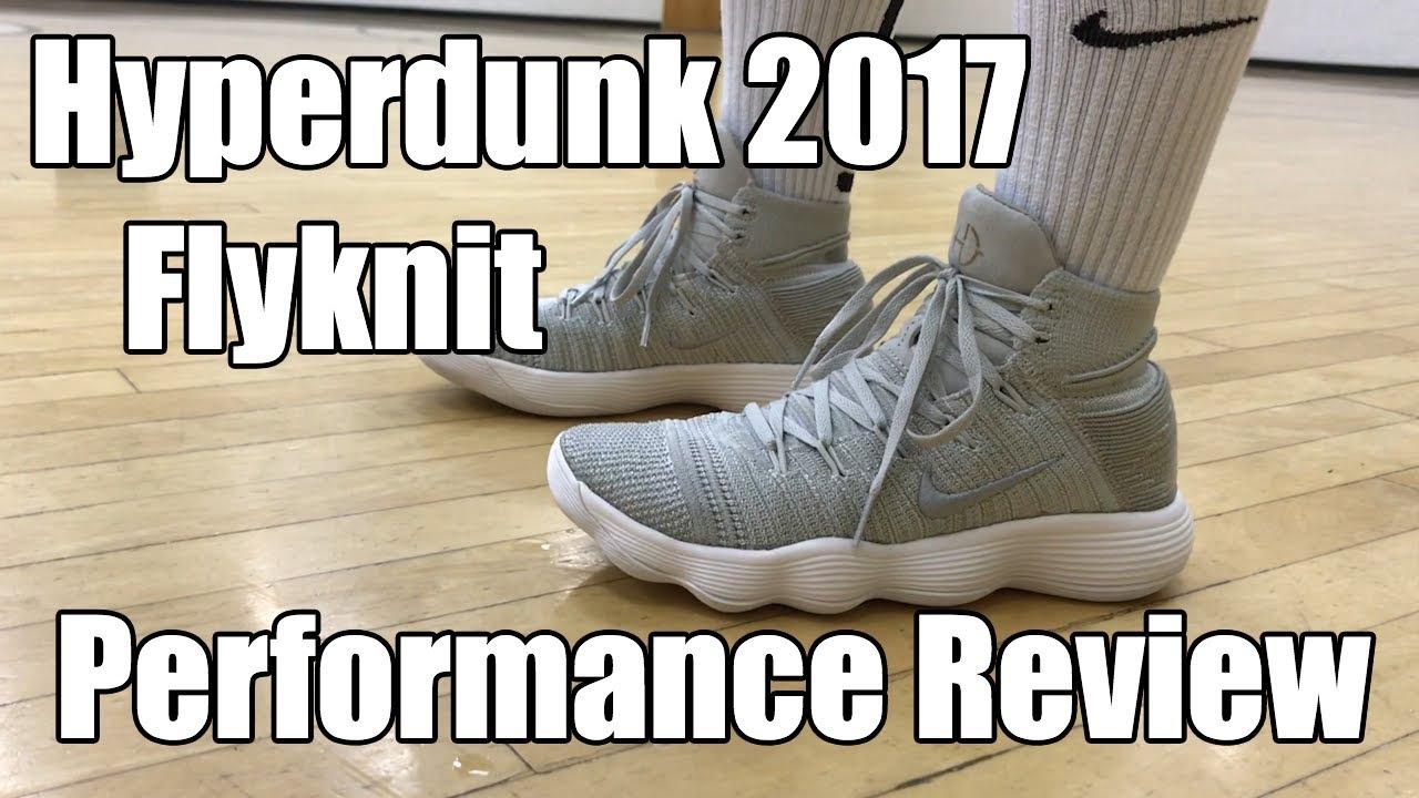 f84ee8d5a46 Nike React Hyperdunk 2017 Flyknit Performance Review - YouTube