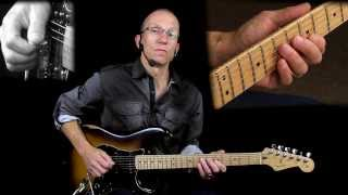 Stretching The Blues Lesson #3 - The Flat Five