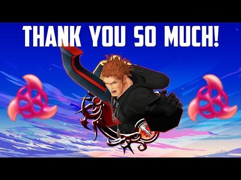 THANK YOU SO MUCH - Kingdom Hearts Union X