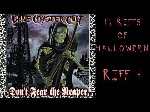 13 Riffs of Halloween (2017): Riff 4 - Don't Fear the Reaper - Steve Stine Guitar Lessons