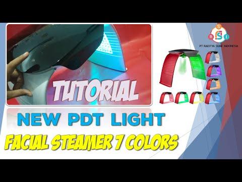 tutorial-alat-facial-pdt-light-7-warna-dengan-uap-hangat-dan-dingin-|-new-pdt-led-face-spa-machine