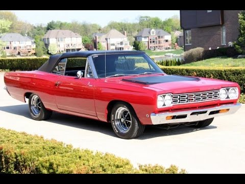 1968 plymouth road runner clone convertible for sale youtube. Black Bedroom Furniture Sets. Home Design Ideas