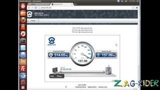 Mega.co.nz: Test de débit avec la fibre optique!