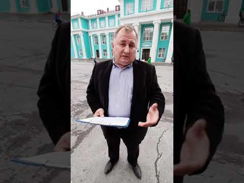 Дерендяев Александр после митинга, Горнозаводск 01.07.2019 г.