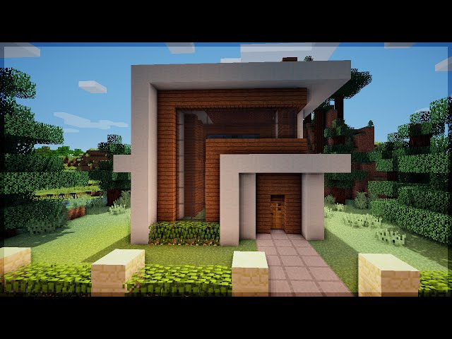 Snooker table minecraft construindo uma pequena casa for Casa moderna su minecraft