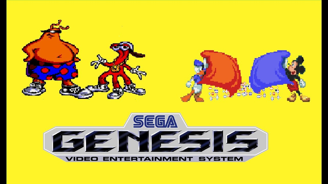 Best Sega Genesis Games 2 Player | Games World