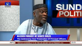 Politics Today: Removing Bukola Saraki As The Senate President Is Impossible - Adeyeye