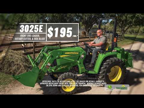 Everglades Equipment Group - John Deere 3025E