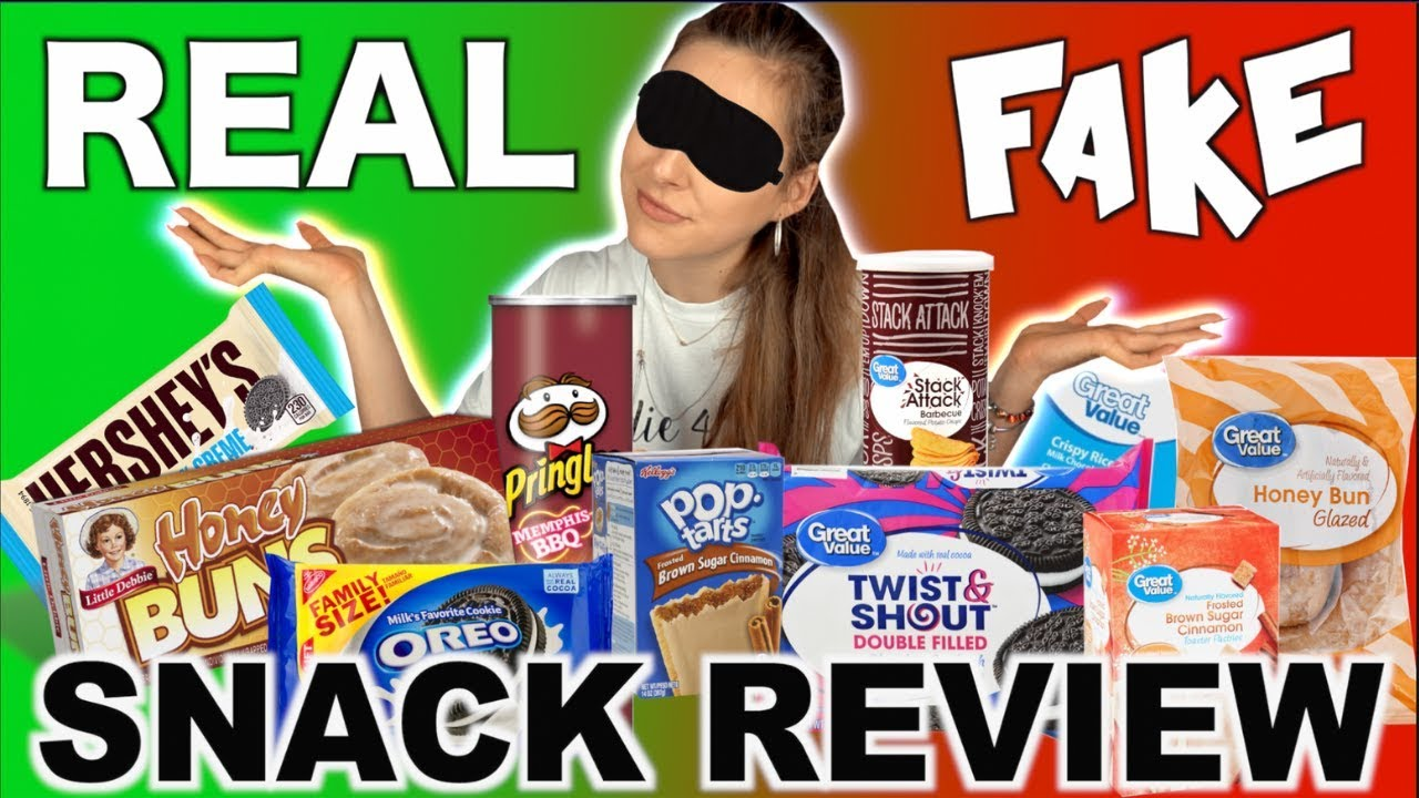 FAKE vs  REAL | Are Brands WORTH the MONEY? | SNACK REVIEW
