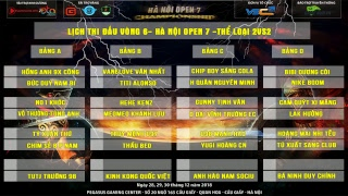 AOE Hà Nội Open 7 | 2vs2 Random | Kênh BLV: Hải MariO | Ngày 28-12-2018