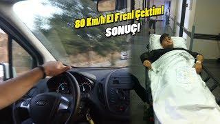 80 Km/h İle El Freni Çektim Sonuç ! / Bir Daha Yaparmıyım ?
