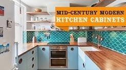 55+ Mid-Century Modern Kitchen Cabinets Ideas