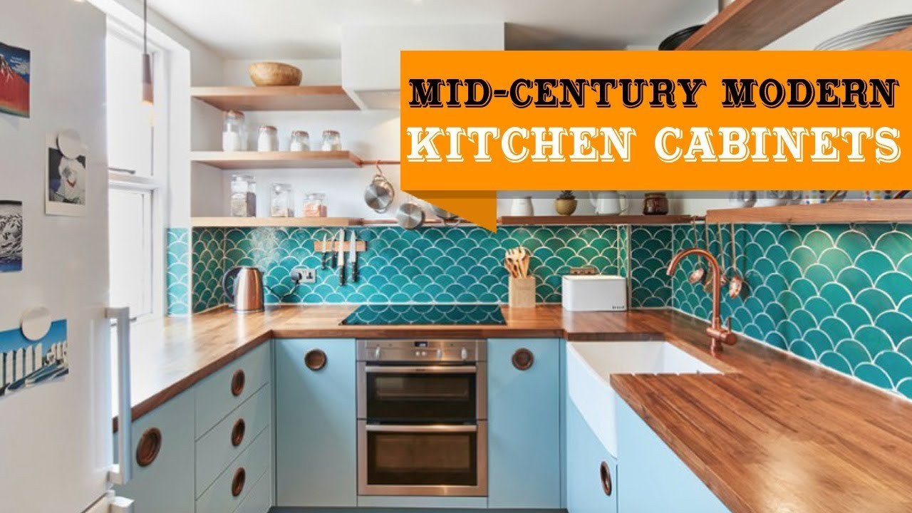55+ Mid-Century Modern Kitchen Cabinets Ideas