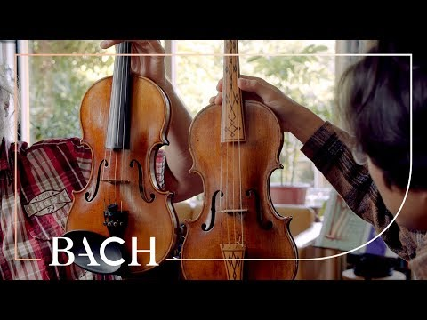 Sato and Affourtit on the Baroque violin and bow | Netherlands Bach Society