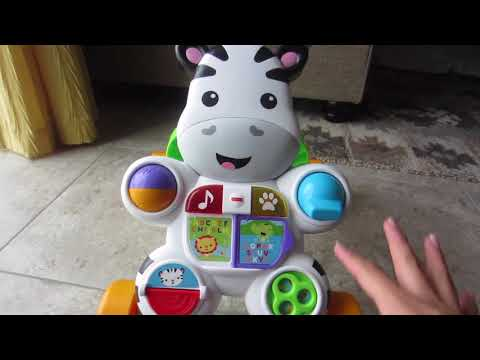 Fisher-Price Learn With Me Zebra Walker: Review