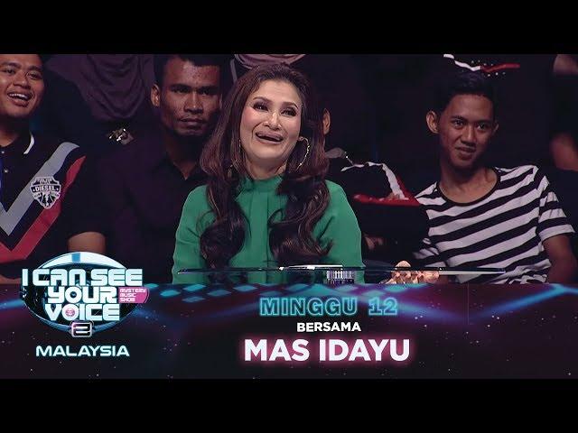 [FULL] I Can See Your Voice Malaysia (Musim 2) Minggu 12 Bersama Mas Idayu | #ICSYVMY