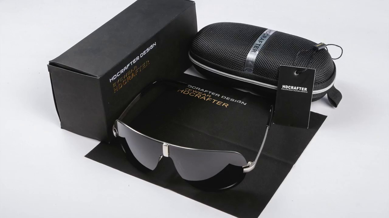 f67fe6f7ab2 HDCRAFTER Sunglasses - YouTube