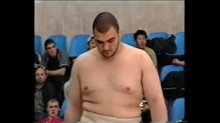 Сослан Борадзов - Рауль Дгворели. Звёзды российского сумо.