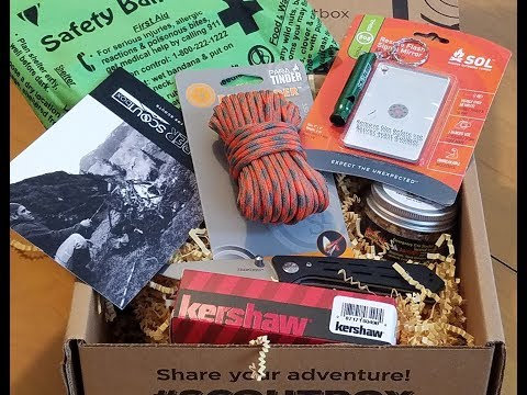 SCOUT Box --- Great Gear For Scouts Or Anyone Who Loves The Outdoors