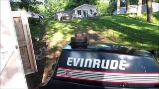 Free 1987 3 hp evinrude outboard motor: will it run?