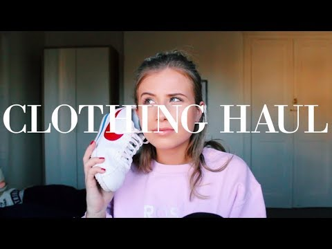 TRY ON CLOTHING HAUL FEAT....
