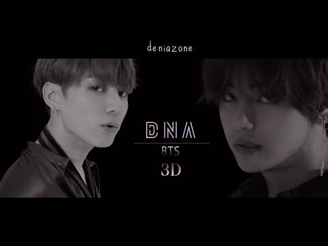[3D+BASS BOOSTED] BTS - DNA (Headphone Needed)