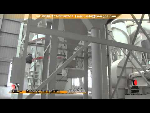 Limestone Grinding Line in Henan Province,Central China