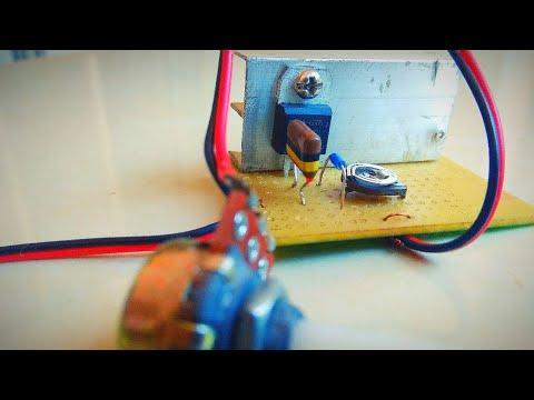 Ac motor speed control using triac