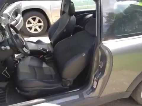 Mini Cooper Seat Back Recline Problem Youtube