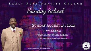 Sunday School: August 23, 2020