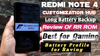 Best ROM for Redmi Note 4 - Long battery backup, Best