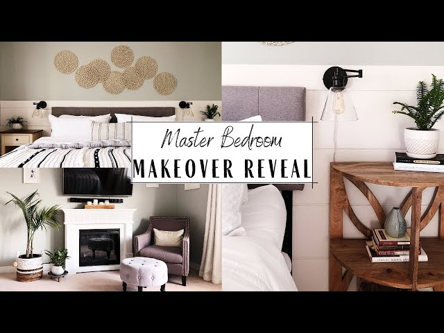 Master Bedroom Makeover Reveal | Starting My Next Chapter