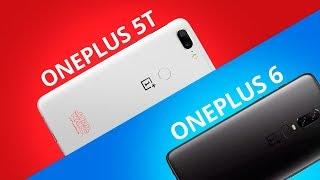 OnePlus 6 vs OnePlus 5T [Comparativo]
