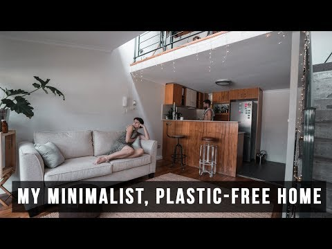 My Hipster Minimalist, Plastic-Free Home Tour - I HAVE A HOUSE!