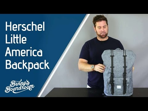 7b852c4b0d Herschel Little America Backpack Walkthrough - Benny s Boardroom