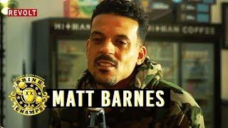 Matt Barnes | Drink Champs (Full Episode)