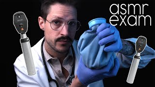 Mind Melting ASMR Inaudible Exam | Soft Spoken | Lights and Medical Doctor Roleplay