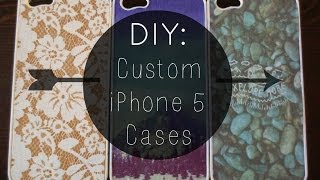 DIY: Custom iPhone 5 Cases ✂ ☆ Thumbnail