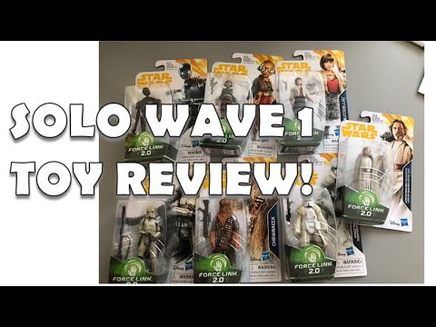 SOLO: A STAR WARS STORY WAVE 1 Toy Review: Luke is depressed