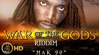 Mavado - Mak 90 (Raw) [War Of The Gods Riddim] November 2015