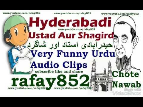 Chote Nawab Hyderabadi Ustad Aur Shagird Funny Audio