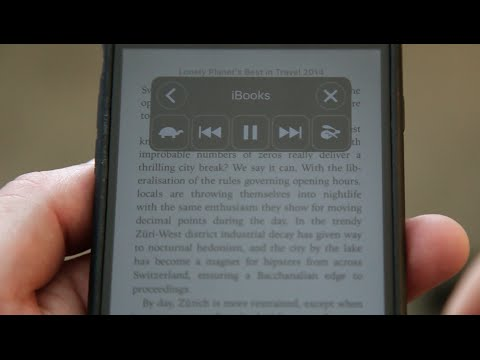 Make Your IPhone Read EBooks & Articles Aloud To You (How-To)