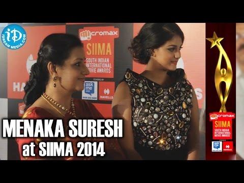 Veteran Actress Menaka Suresh @ SIIMA 2014, Malaysia